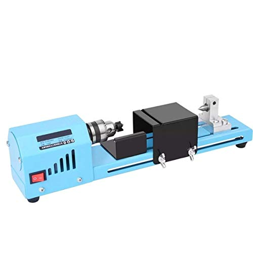 Check Out This ZYL-YL Wood Lathes, 150W DC 12V-24V Mini Wood Lathe Bead Cutting Drill Polishing DIY ...