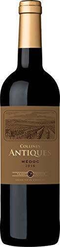 Collines Antiques, Bordeaux Mèdoc, vino rosso, annata 2016, 750 ml