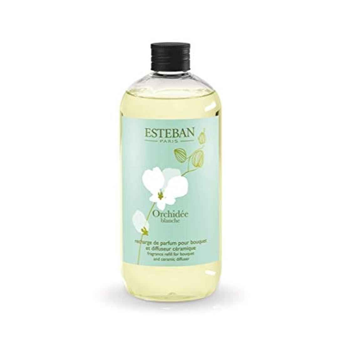 繰り返す超越する支給ESTEBAN Orchidee blanche(オルキデ ブランシュ) フレグランスリフィル500ml