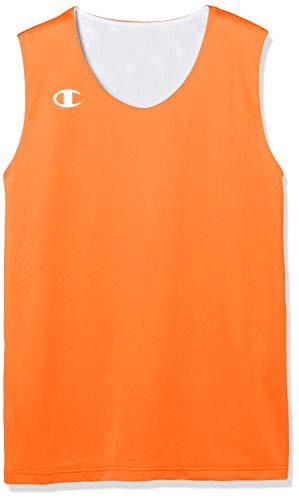 [チャンピオン] リバーシブルタンク バスケットボール CBGR2300 キッズ オレンジ 150