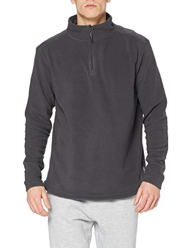 Stedman Apparel Active Fleece Half Zip/ST5020 Sweat-Shirt, Gris-Grey Steel, XX-Large Homme