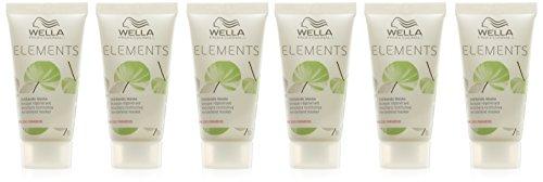 Wella Elementos stärkende Maske, Paquete 6er (6 x 0,03 l)