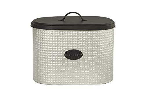 EHC Steel Heavy Duty Kitchen Bread Bin Bread Storage Container Bread Crock,...