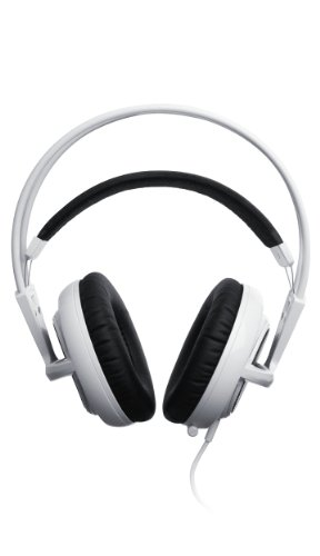 New SteelSeries Siberia V2 Full-Size Headset for iPad, iPod, and iPhone (White)