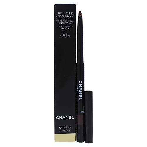 Chanel Stylo Yeux Waterproof Long-lasting Eyeliner, 932 Mat Taupe, 0.01 Ounce