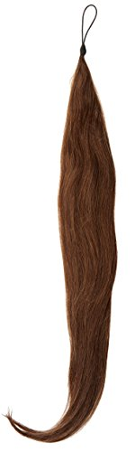 American Dream Hair Addition - 100% echt haar - zijdezacht glad haarstukje 24 inch / 61 cm Donkerbruin-mix