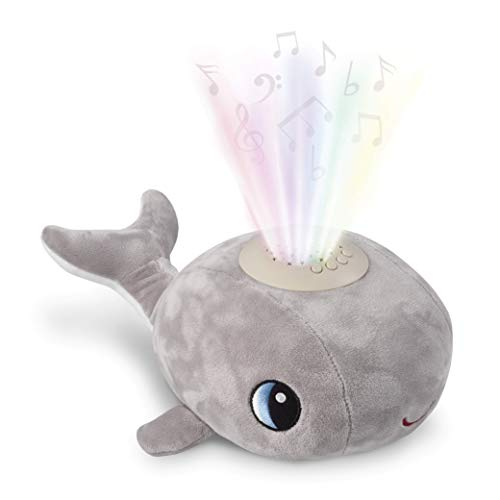 Baby Night Light for Kids and White Noise Machine - Helps Little Ones to Fall Asleep and Stay Asleep - This Adorable Whale Night Light Projector and Sound Machine is A Shusher, Soother and Sleep Aid