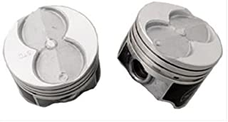 Speed Pro Hypereutectic Coated Skirt Flat Top 4VR Piston Set/8 compatible with Ford Mercury 351W 5.8 5.8L 9.1:1 +.020