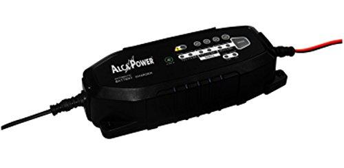 Dispositivo per carica e mantenimento batteria, 6V, 12V, 3800 mA adatto per automobile, motorino, scooter, motocicletta di alcapower
