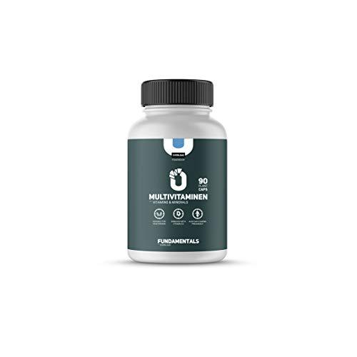 Fundamentals Multivitamine - Vitamine & Mineralen - Vegetarische - Geschikt voor: zwangerschap/Alle leeftijden - 90 Capsules