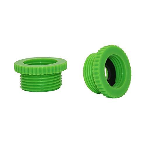 Durable rosca hembra de 1/2 pulgadas a rosca macho de 3/4 pulgadas conectores de agua para jardín, conexiones adaptadoras, sistema de riego, accesorios 100 piezas (color: aleatorio)