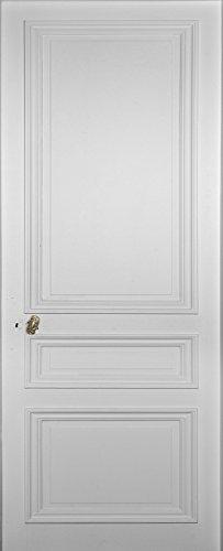 Trompe l'oeil porte Adhésif 141037 Décoration Murale, Polyvinyle, Blanc, 83 x 0,1 x 204 cm