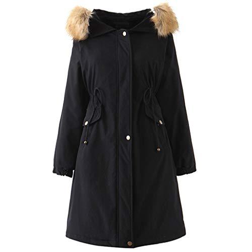 FRAUIT dames winterjas warm parka aan beide zijden dragen mantel met capuchon rits gewatteerde jas mantel met riem