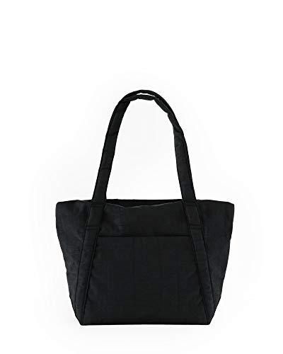 BAGGU Mini Cloud-Tasche, leicht, Nylon, verstaubar, für Reisen oder den täglichen Gebrauch, Schwarz (2021)