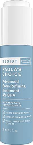 Paula's Choice RESIST Advanced Pore Refining Treatment 4% BHA Serum, Salicylic Acid & Green Tea, Anti-Aging Exfoliant for Oily Skin, 1 Ounce