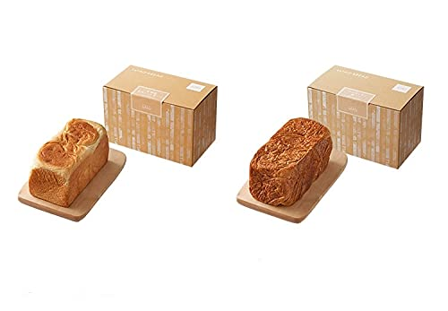 LeTAO ( ルタオ ) 北海道生クリーム食パン(1本) × クロワッサン食パン(1本)のセット