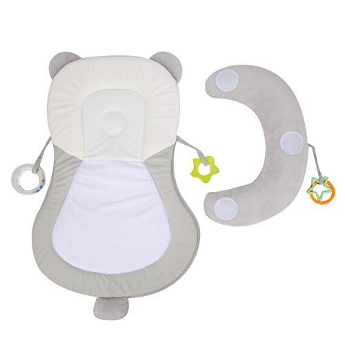 SALUTUYA Almohada de Soporte para el Cuello para bebés Soporte de piernas Ajustable para la Cabeza, la Espalda y Soporte para Las piernas levantadas