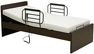 [開梱設置付き]電動ベッド 省スペース 2モーター(hmfb-8002jns) (ダークブラウン)