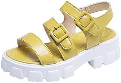 Ranking integrated 1st place FUNRE Non-Slip Basic Casual Sandals Shoe Philadelphia Mall Hee 5.5cm Fashion Women