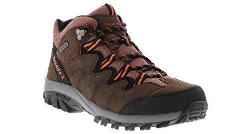BEARPAW Men's Lars Hiking Shoe Brown 9.5