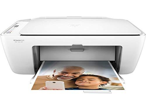 HP DeskJet 2620 AiO 4800 x 1200DPI Inyección de tinta térmica A4 7.5ppm Wifi - Impresora multifunción (Inyección de tinta térmica, 4800 x 1200 DPI, 60 hojas, A4, Impresión directa, Blanco)