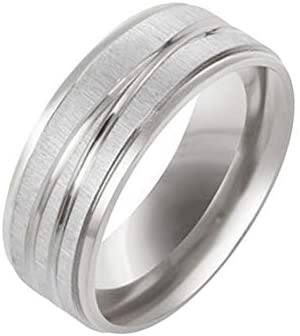 zroven Simple Stainless Steel Medical Weight Loss Ring Fashion Magnetic Healthcare Finger Ring product image
