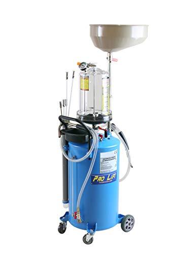 Pro-Lift-Werkzeuge Ölabsauggerät Ölablassgerät Ölauffanfwagen pneumatisch Ölbehälter Druckluft