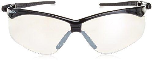 Jackson Indoor/Outdoor Safety Glasses, Scratch-Resistant, Wraparound, 1 pair