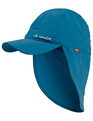Vaude Kinder Kappe Kids Sahara Cap III, seablue, S, 03136