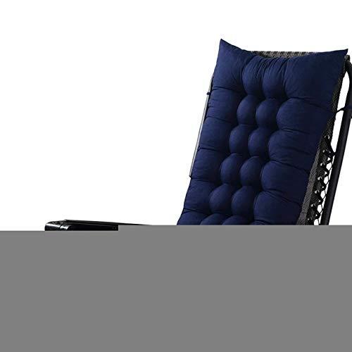 RAQ Long Lounger zitkussen voor schommelstoel Tatami Mat Pad zitvlak rotan tuinstoel kussen sofa mat 1 Paars.