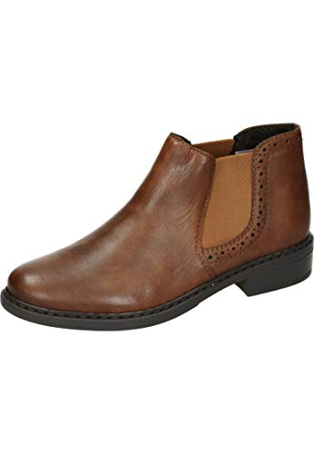 Rieker dames laarzen 77584-22 bruin 599987
