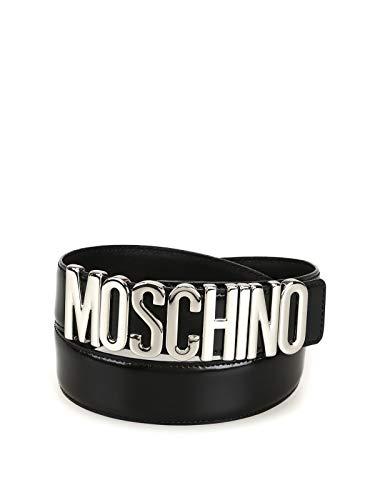 Moschino Luxury Fashion Damen A801280071555 Schwarz Gürtel | Frühling Sommer 19