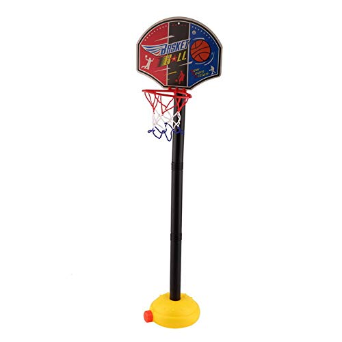 Hexingshan Portable Basketball Stand Kids Sports Movable Ball Game Activity Accessory Convenient and Interesting Toy