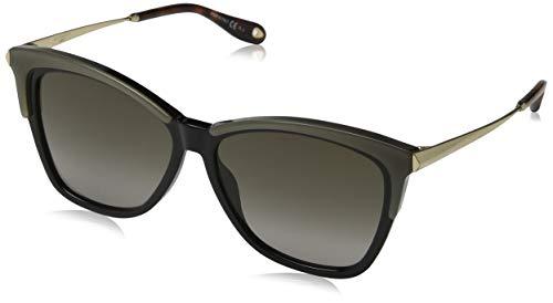 Givenchy GV 7071/S HA 4CW Occhiali da sole, Giallo (Yellow Black/Brown), 57 Donna