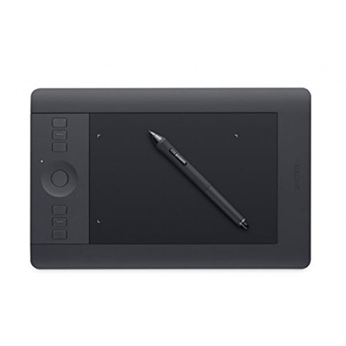 Wacom Intuos PRO Small in Nero; Tavoletta Grafica da Disegno Digitale con Penna Creativa 4K; Compatibile con Windows & Mac; Kit Wireless Incluso, Nero