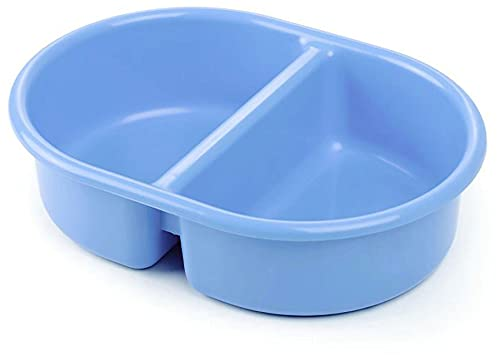 The Neat Nursery Co. Neat Nuresery Oval Top 'n' Tail Wash Bowl, 956 Blue, 0.3 kg 5055378200991