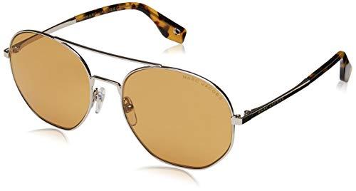 Marc Jacobs Damen MARC 327/S G6 Sonnenbrille, Silber braun, One Size