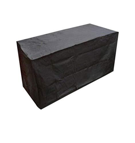 zhbotaolang Couvertures de Grands Meubles Étanche - Extérieur Rectangulaire Chaise Table Housse Étirable Tout Pluie Neige Soleil Poussière (120 * 120 * 74 cm)