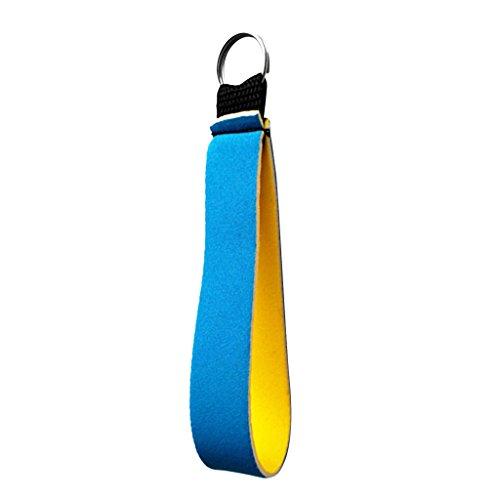 Neopren Armband Schlüsselanhänger Schlüsselhalter für Sport Fitness - Himmelblau