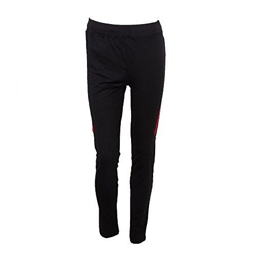 Softee Pantalon Long pour Homme S Noir/Rouge
