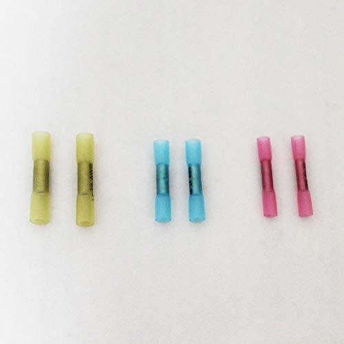 WFBD-CN Batterieklemmen AWG 22-10 Schrumpf Stecker Kit isolierte Wärmeschrumpfung Kolben Terminals Elektrische Splice Draht Wasserdicht (Color : 200 PCS)