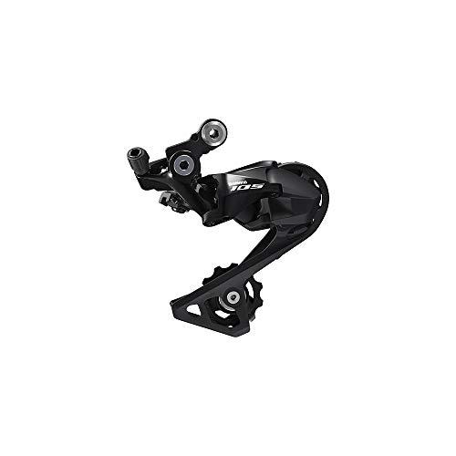Shimano 105 Shadow RD-R7000 Dérailleur arrière 11 vitesses Modèle moyen, Silky Black.
