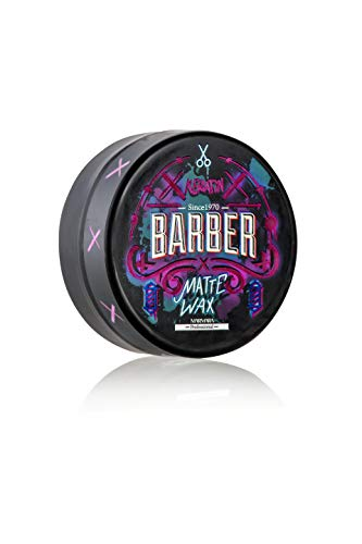 BARBER MARMARA Keratin Matte Hair Wax 150ml Haarwachs starker Halt und matt Effekt für ein natürliches Finish