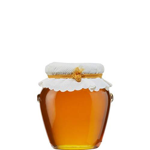 Orangen Blüten HONIG 400g Glas Creta Mel Orino von der Insel Kreta in Griechenland - fruchtig herber Honig von Orangenblüten Orangenhonig Bienenhonig - jährlich begrenzte Stückzahl