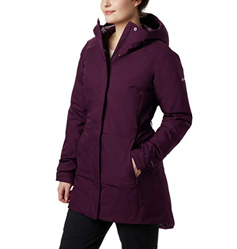 Columbia Trenchjacke Herbst RiseTM, Damen, Autumn Rise™ Trench Jacket, Black Cherry, Large