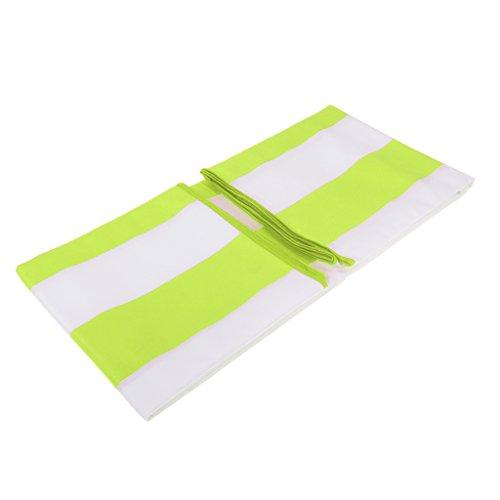 MagiDeal Asciugamano Asciutto Rapido per Corsa in Spiaggia, Piscina, Palestra, Sport in Palestra - Verde Fluo
