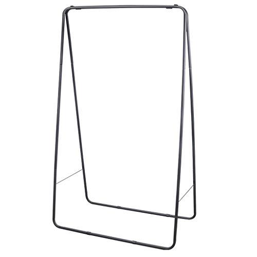MQH Perchero El Piso de Soporte de Perchero Multifuncional es Adecuado para el Dormitorio Sencillo Moderno Moderno Ropa de Almacenamiento de Rack (Negro) Perchero de Pie