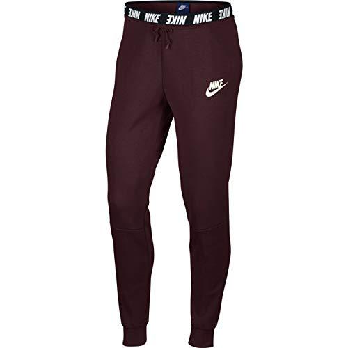 Nike Damen Advance 15 Jogginghose, Burgundy Crush/Sail, M