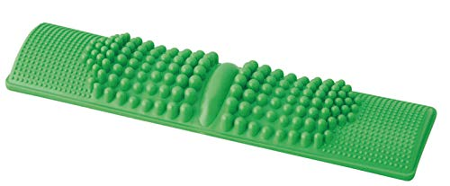 エソール 足つぼマッサージ 足つぼふみふみ 簡単 健康維持 (足つぼ対応表付き) グリーン