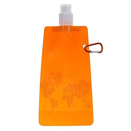 Botella de Agua Plegable Bolsa de agua plegable portátil Bolsa de agua Suministros deportivos al aire libre Suministros deportivos al aire libre Senderismo Senderismo Camping Frasco suave Bolsa de agu